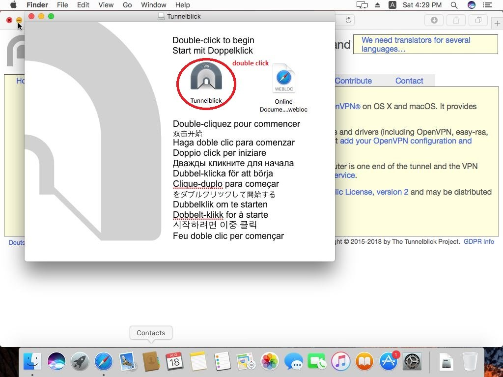 How to set up VPN on Mac OS and OS X, instruction